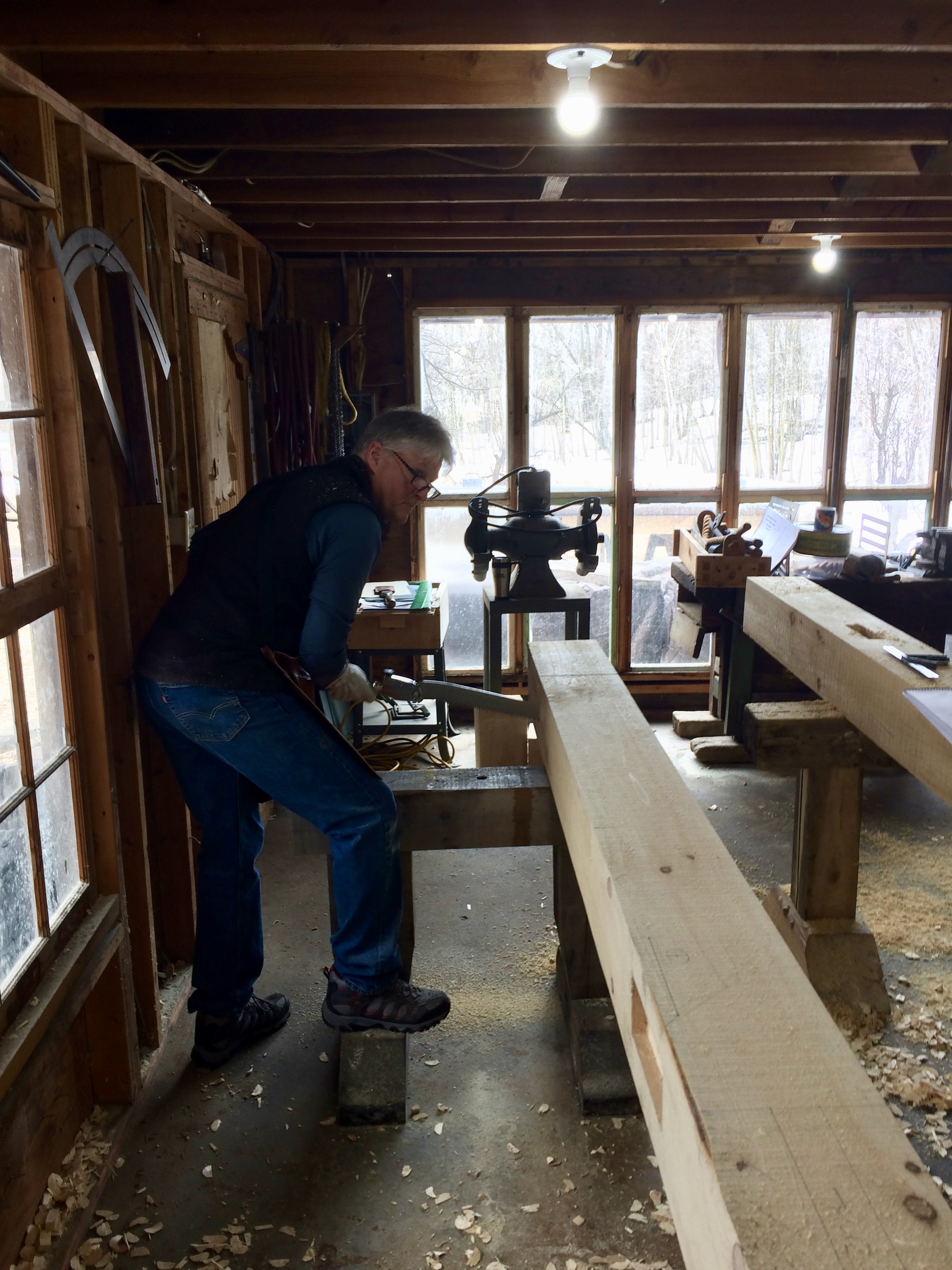 Take the Plunge: Basic Timber Framing Course Reflections – Avon ...